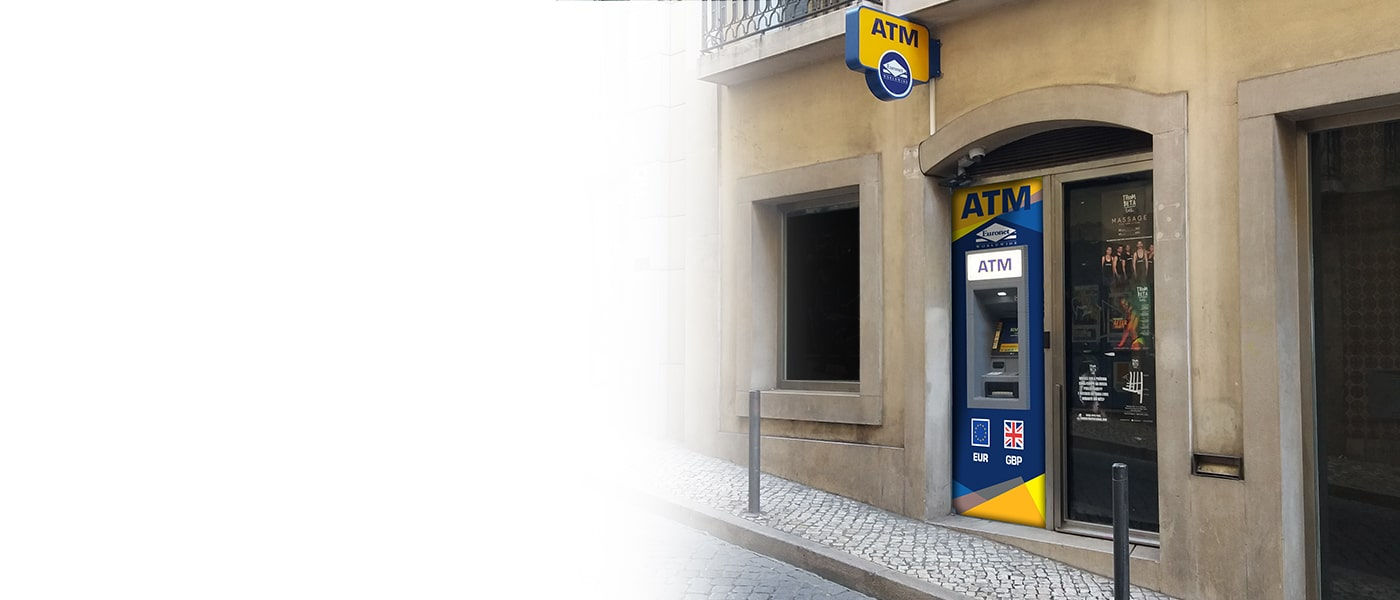 Saiba se o seu negócio é elegível para um ATM da Euronet com a nossa calculadora de elegibilidade.